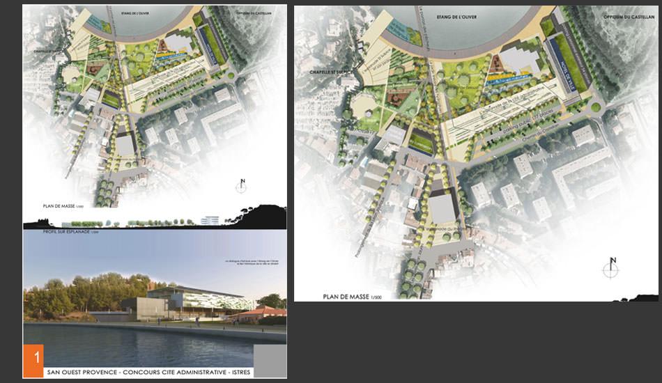 Relativ Mes réalisations > Projets d'architecture et de paysage > Plans de  HR68